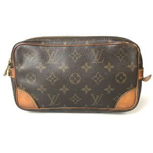 Auth Louis Vuitton Marly Dragon Pm #8226L62